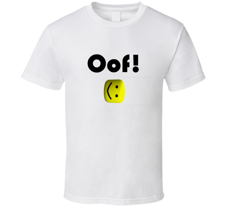 Roblox Oof Death Sound Image T Shirt