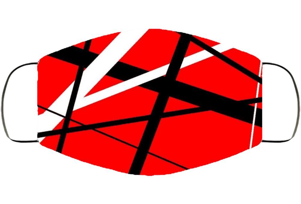 Eddie Van Halen Frankestein Guitar Design Facemask Face Mask Cover