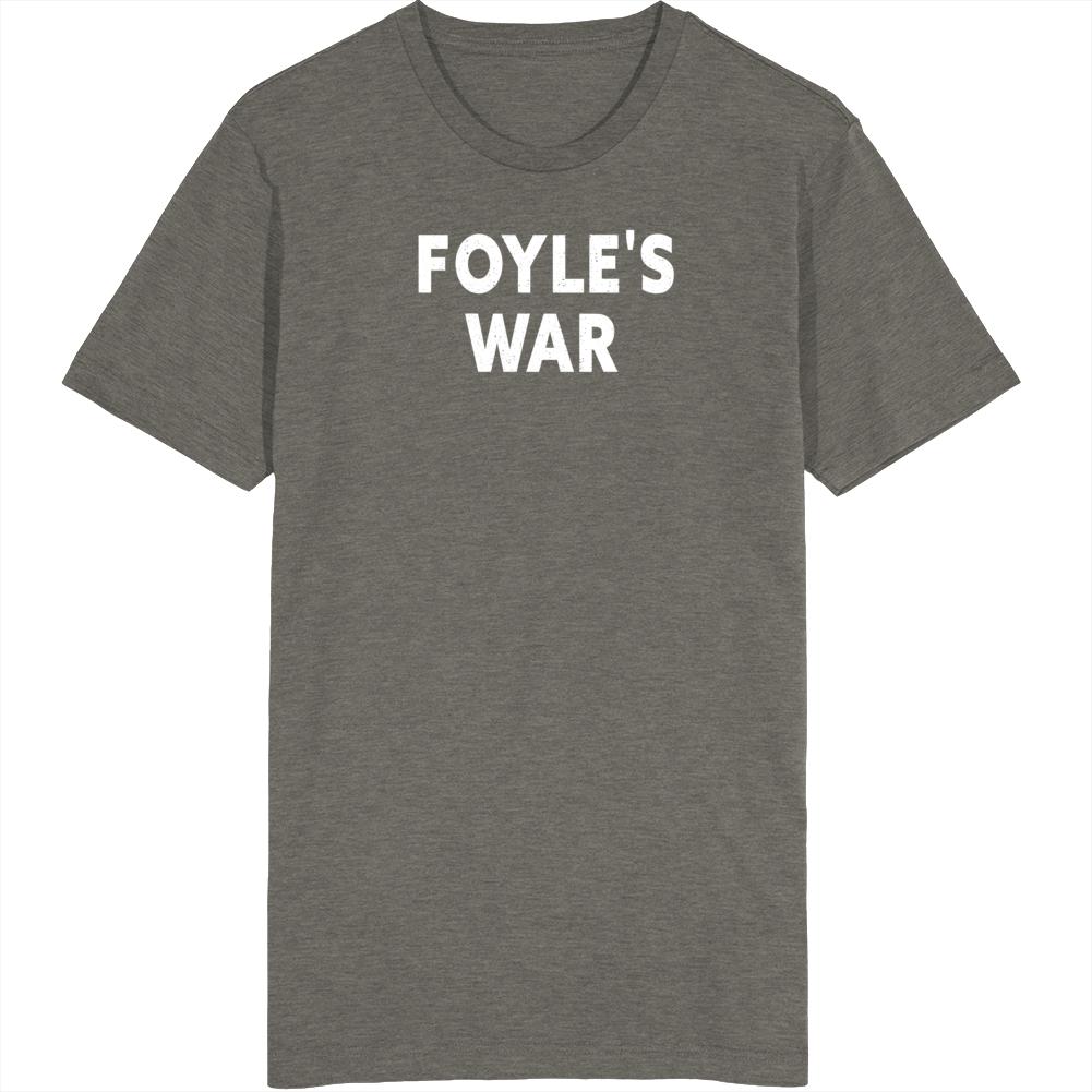 Foyle's War Retro Worn Throwback Look Vintage Unisex Cool Fan Gift T Shirt