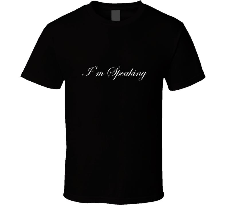 Im Speaking Cursive Kamala Harris T Shirt