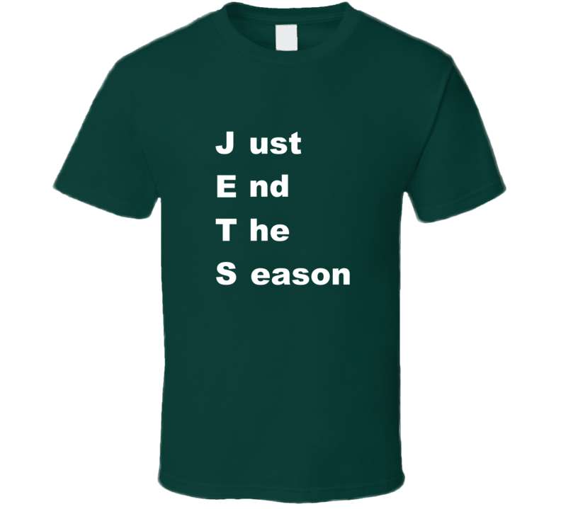 NY Football Just End The Season T Shirt