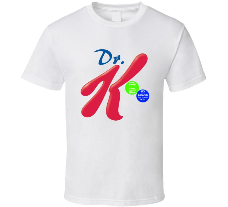 Dr. K  Special K parody T shirt