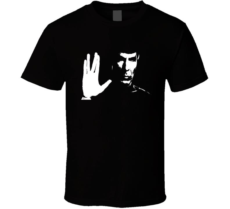 Mr Spock Nimoy Vulcan Hand signT Shirt