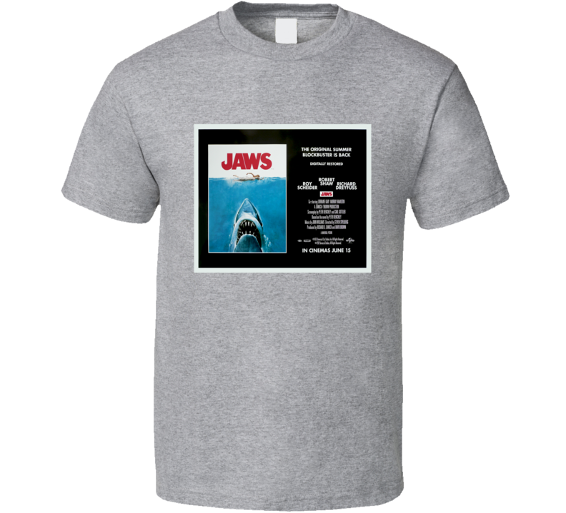 Jaws Movie image T Shirt