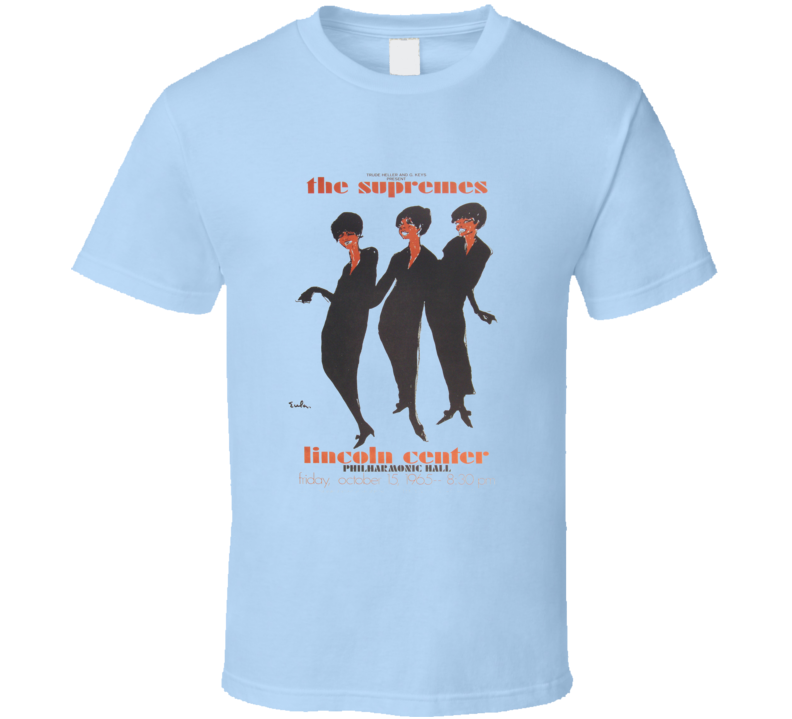 The Supremes at Lincoln Center T Shirt
