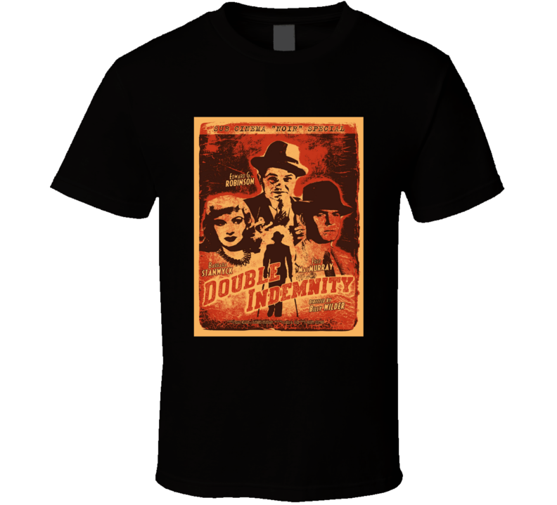 Double Idemnity movie poster T Shirt