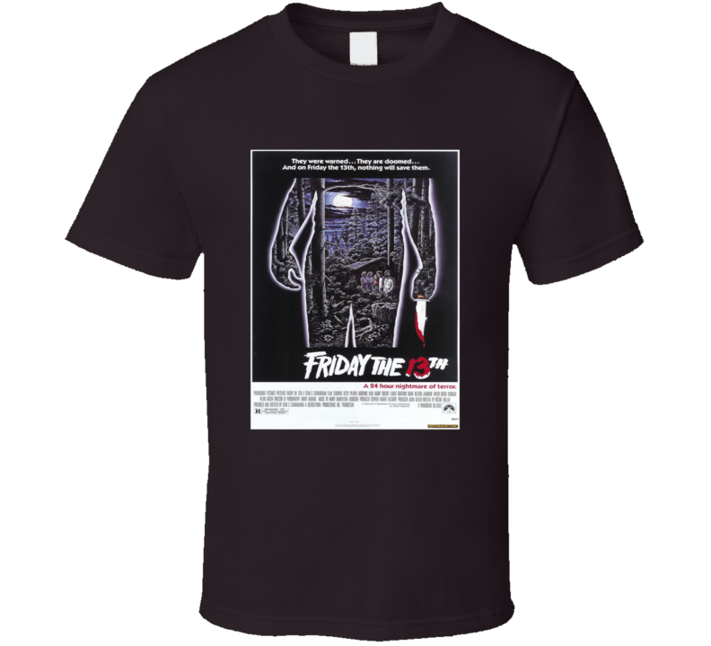 Friday the 13th movie poster T Shirt