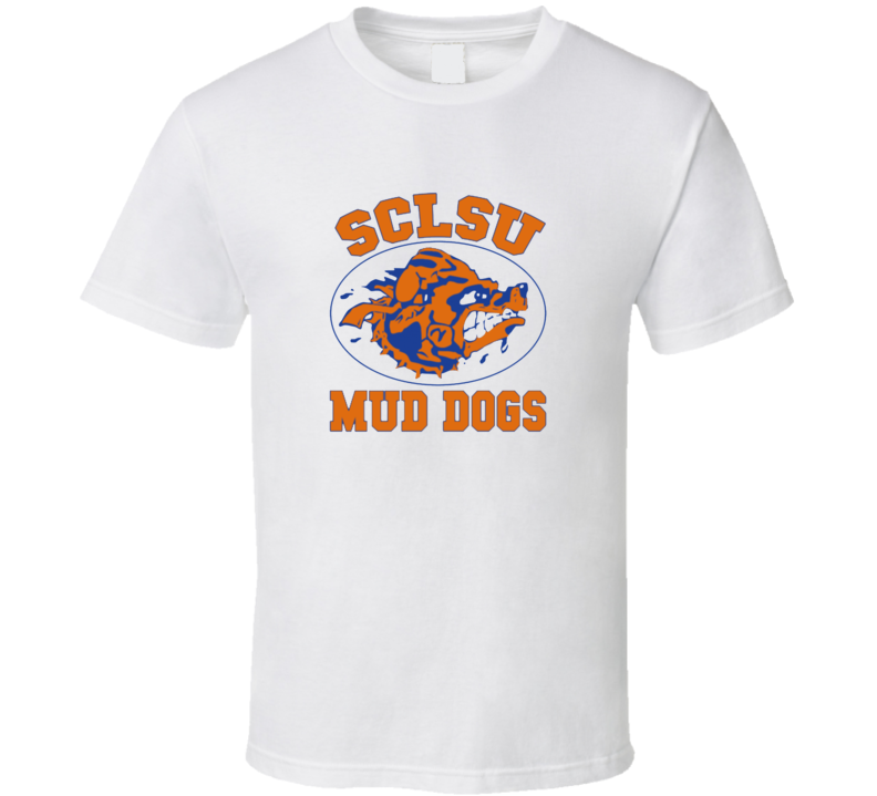 SCLSU Mud Dogs Bobby Boucher Waterboy Movie T shirt
