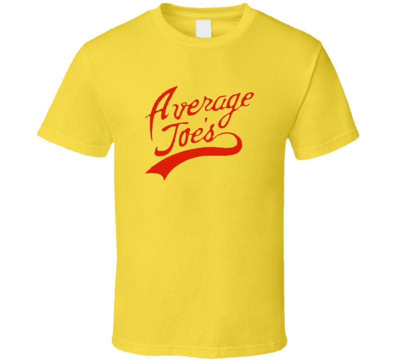 Average Joe's T shirt Dodgeball Movie Shirt Funny Movie Tee Shirt