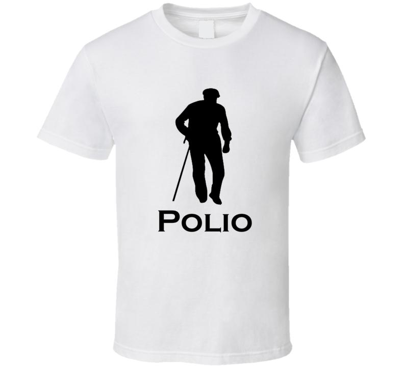 Polio Funny Logo Spoof T shirt Funny Logo Parody Shirt Humor