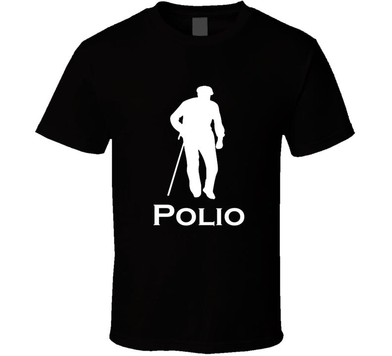 Polio Funny Logo Parody Logo Spoof T shirt