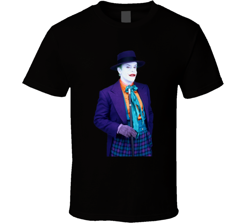 Jack As The Joker Movie Theme T shirts