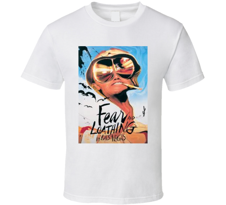 Fear And Loathing In Las Vegas Hunter S Thompson T shirt