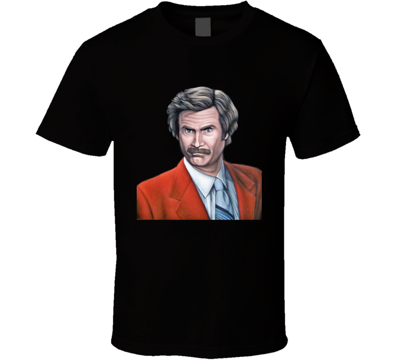 Ron Burgundy The Anchorman T Shirt