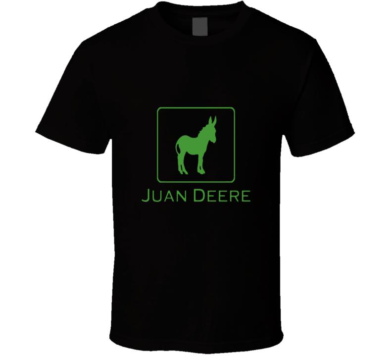 Juan Deere Funny Logo Parody Logo Spoof T Shirt