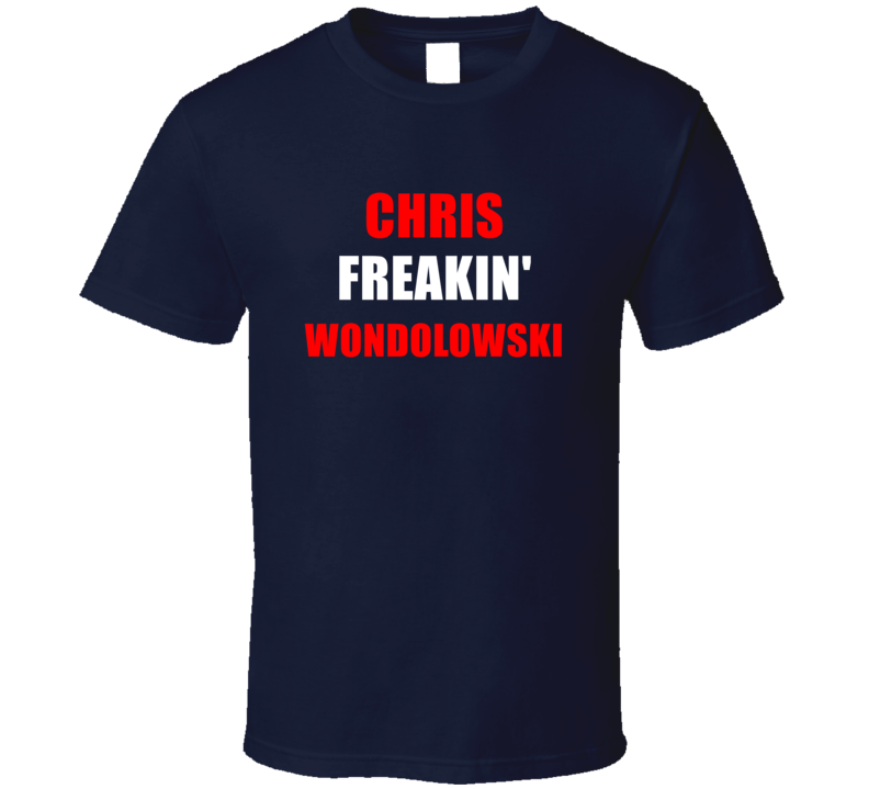 Chris Freakin' Wondolowski USA Footbal Player Soccer Fan T Shirt
