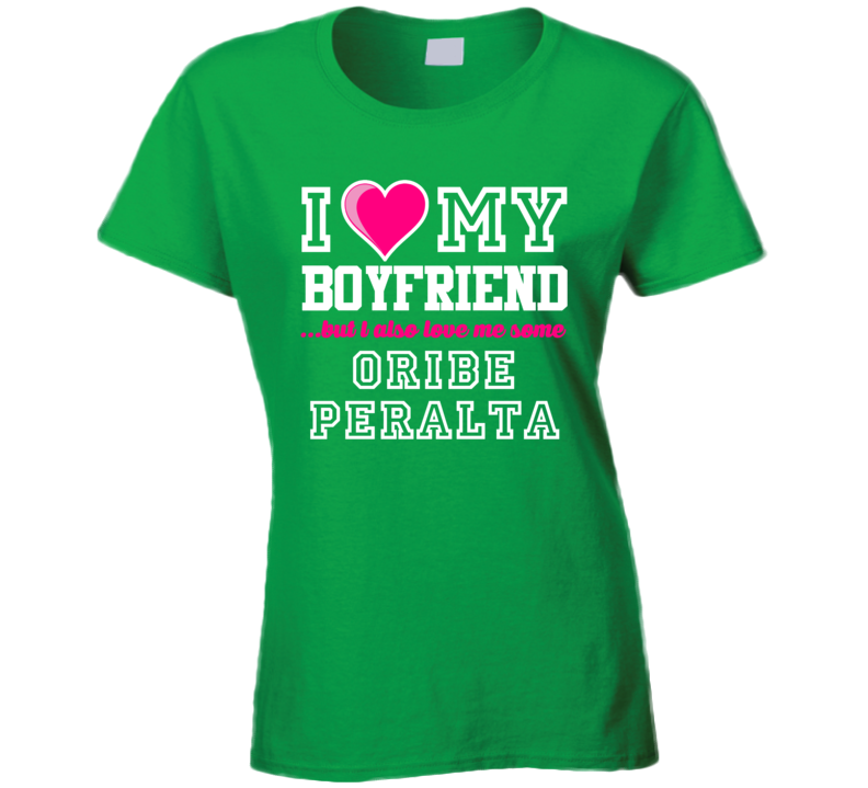 I Love My Boyfriend But I Also Love Me Some Oribe Peralta Mexico Football Player T Shirt