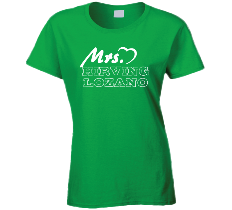 Mrs Hirving Lozano Mexico Football Player Soccer Fan T Shirt