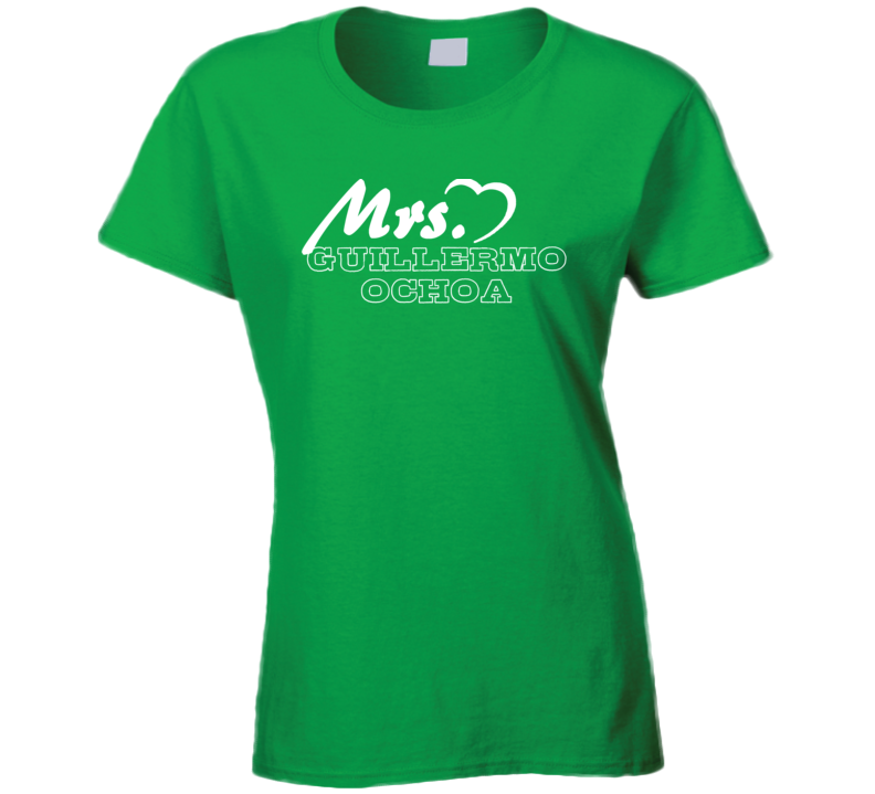 Mrs Guillermo Ochoa Mexico Football Player Soccer Fan T Shirt