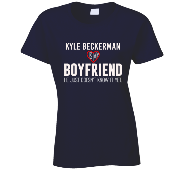 Kyle Beckerman Is My Boyfriend USA Football Player Fan T Shirt