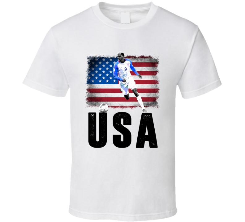 Gyasi Zardes Team USA Flag Copa America Cup Soccer Futball T Shirt