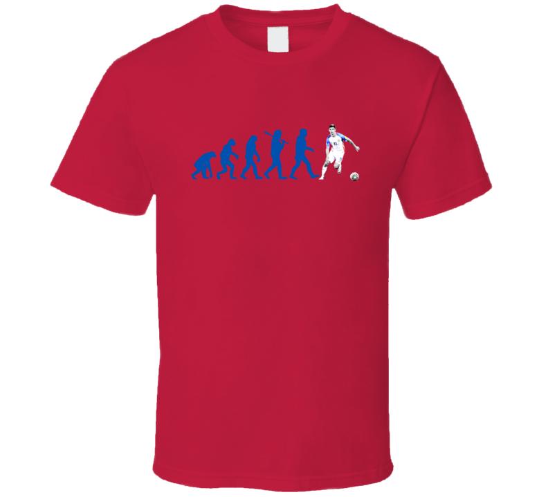 Christian Pulisic Team USA Evolution Copa America Cup Soccer Futball T Shirt