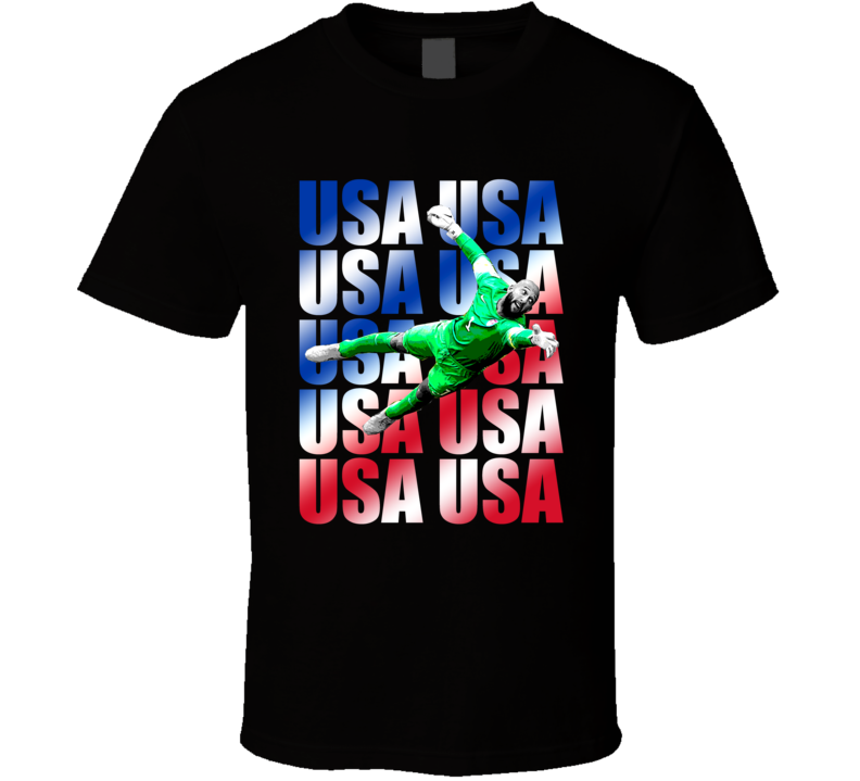 Tim Howard Team USA American Copa America Cup Soccer Futball T Shirt