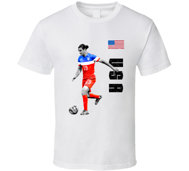 Graham Zusi Team USA Support Patriotic Copa America Cup Soccer Futball T Shirt