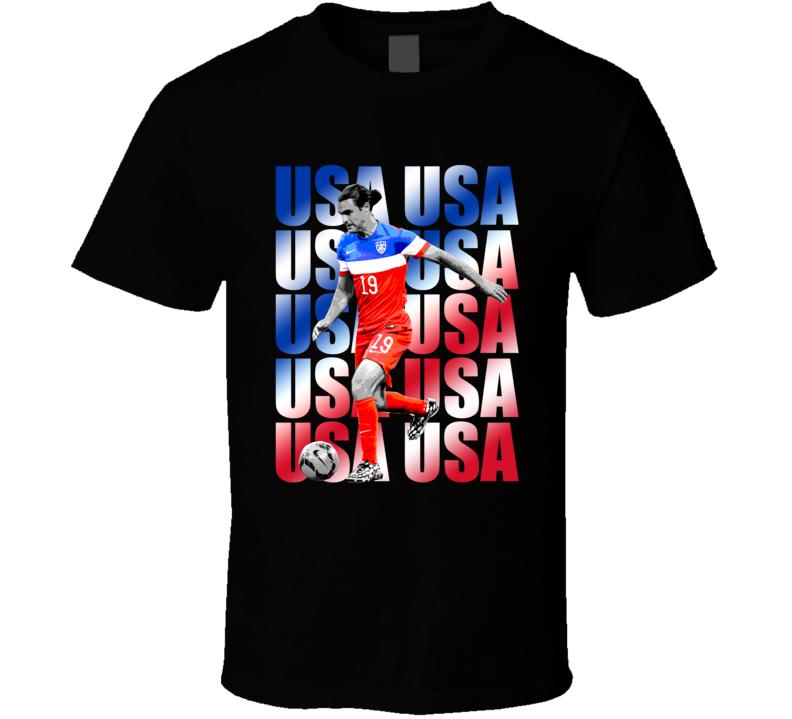 Graham Zusi Team USA American Copa America Cup Soccer Futball T Shirt