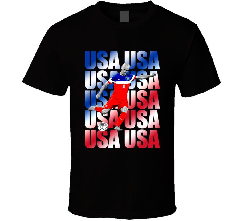 Michael Bradley Team USA American Copa America Cup Soccer Futball T Shirt