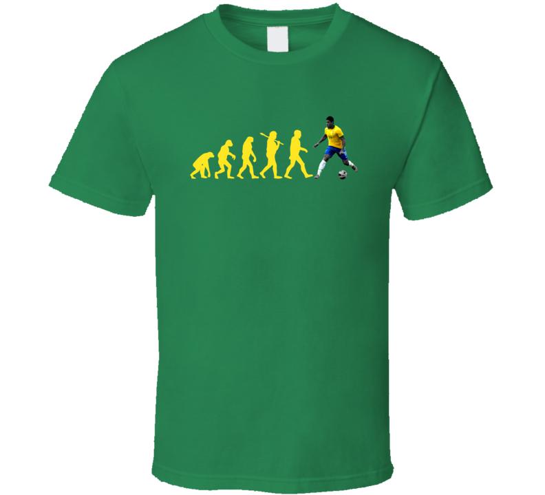Hulk Givanildo Vieira De Sousa Team Brazil Evolution Copa America Cup Soccer Futball T Shirt
