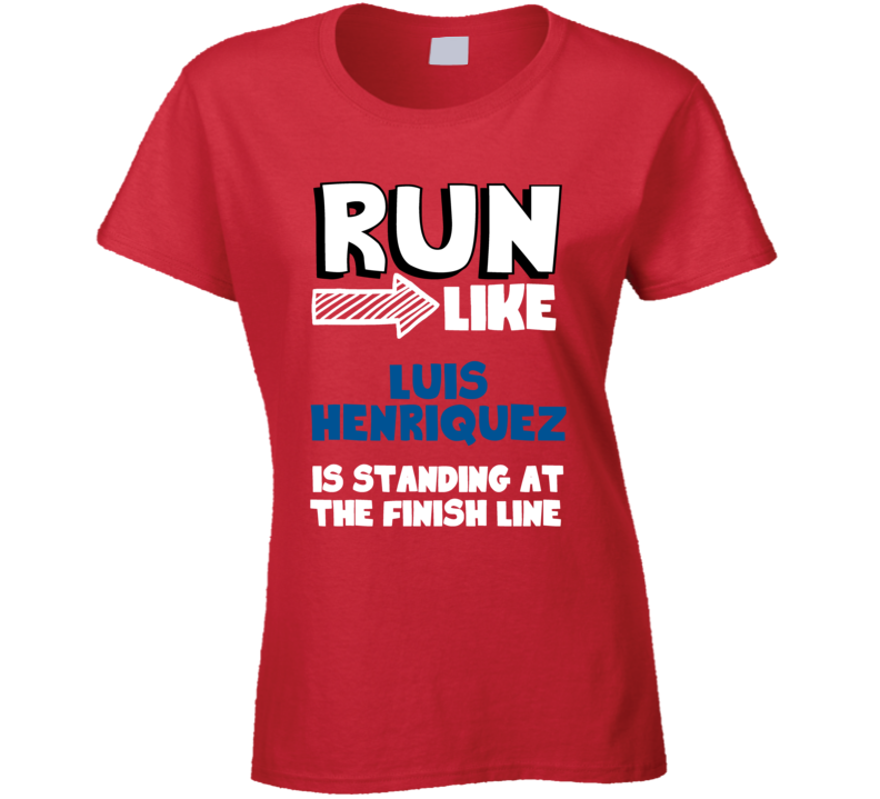 Run Like Luis Henriquez Is Standing At The Finish Line Panama Football Player Fan T Shirt