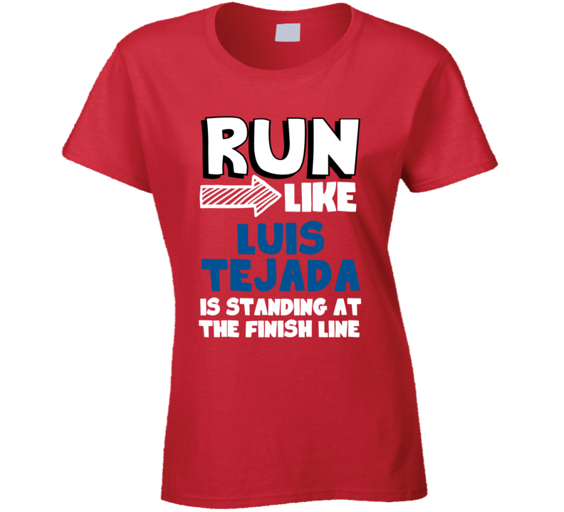 Run Like Luis Tejada Is Standing At The Finish Line Panama Football Player Fan T Shirt