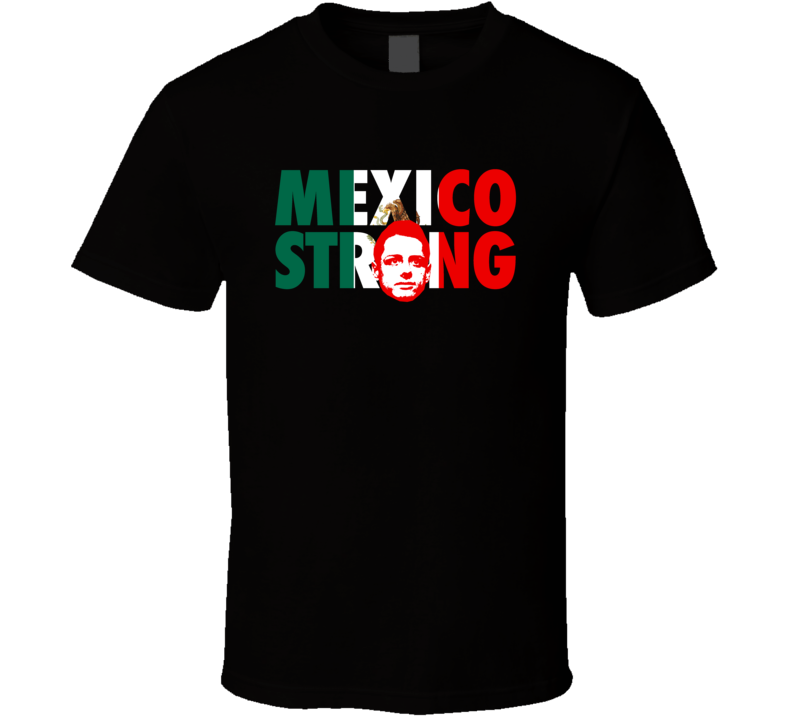 Chicharito Javier Hernandez Team Mexico Strong Copa America Cup Soccer Futball T Shirt