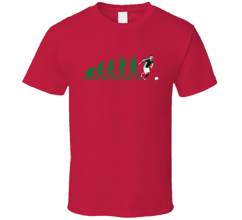 Rafael Rafa Marquez Team Mexico Evolution Copa America Cup Soccer Futball T Shirt