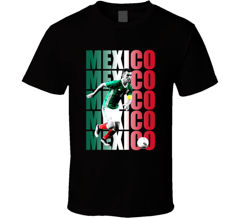 Rafael Rafa Marquez Team Mexico Colors Copa America Cup Soccer Futball T Shirt