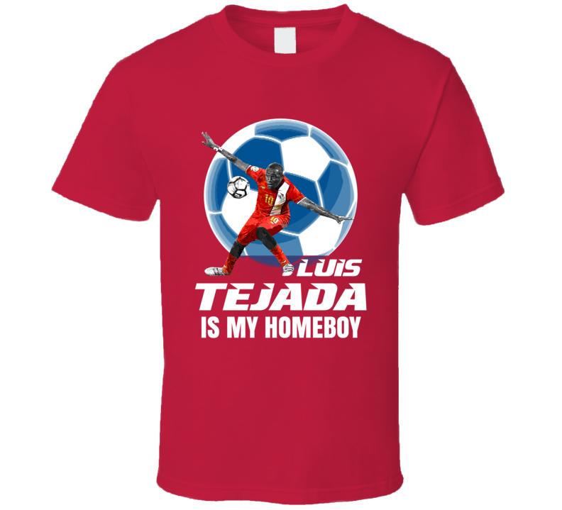 Luis Tejada Is My Homeboy Team Panama Copa America Cup Soccer Futball T Shirt