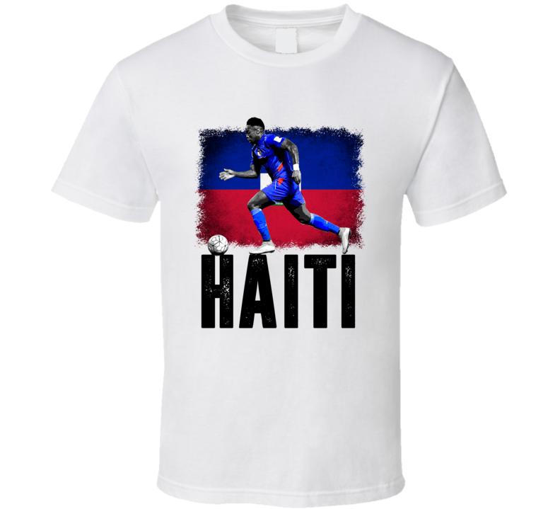 Jean Eudes Maurice Team Haiti Flag Copa America Cup Soccer Futball T Shirt