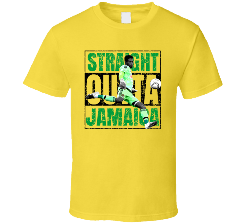 Andre Blake Straight Outta Team Jamaica Copa America Cup Soccer Futball T Shirt