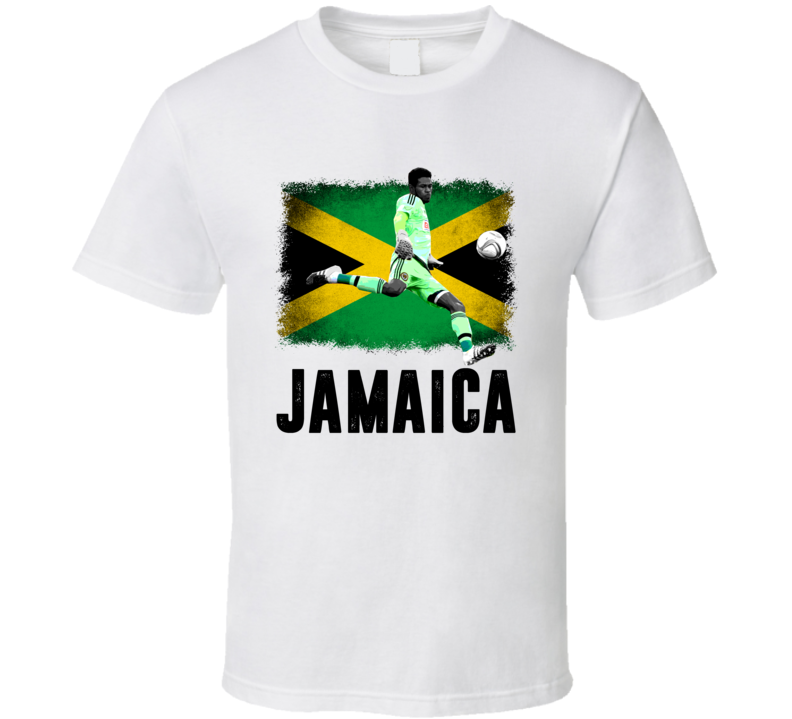 Andre Blake Team Jamaica Flag Copa America Cup Soccer Futball T Shirt