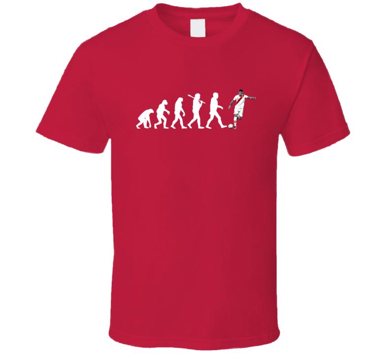 Paolo Guerrero Team Peru Evolution Copa America Cup Soccer Futball Fan T Shirt
