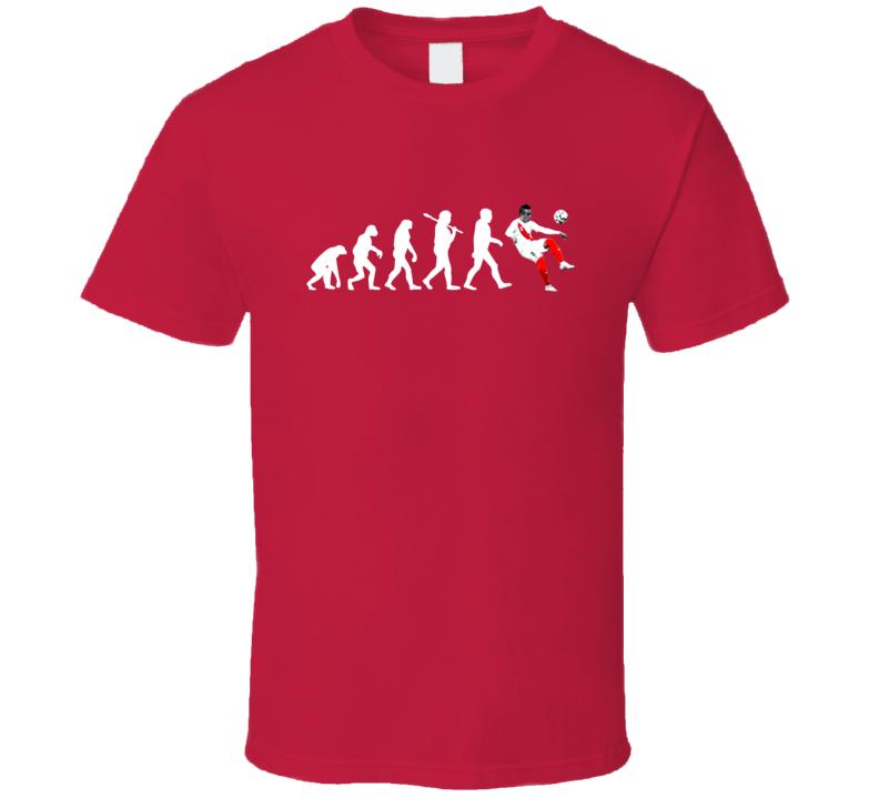 Christian Cueva Team Peru Evolution Copa America Cup Soccer Futball Fan T Shirt