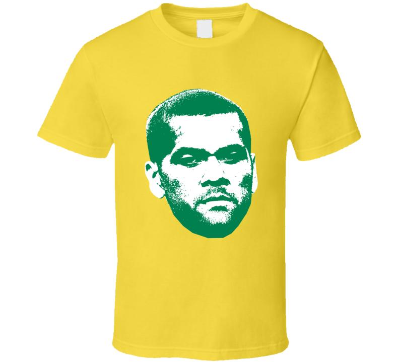 Dani Alves Face Team Brazil Player Copa America Cup Soccer Futball T Shirt