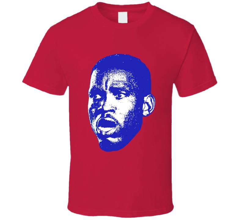 Kervens Beifort Face Team Haiti Player Copa America Cup Soccer Futball T Shirt