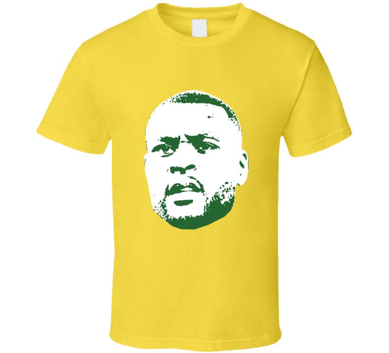 Wes Morgan Face Team Jamaica Player Copa America Cup Soccer Futball T Shirt