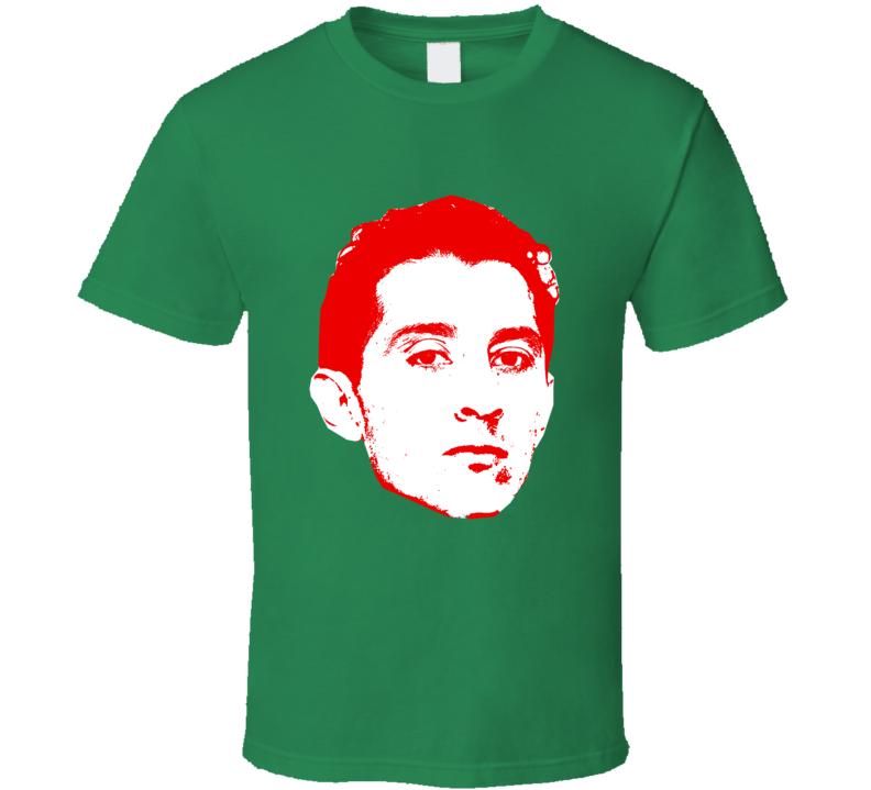 Andres Guardado Head Team Mexico Player Copa America Cup Soccer Futball T Shirt