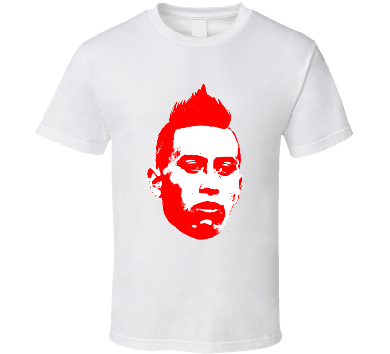 Christian Cueva Face Team Peru Player Copa America Cup Soccer Futball T Shirt