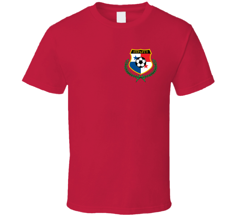 Panama Soccer Futball Team Copa America Cup Jersey Crest Logo Supporter Fan T Shirt