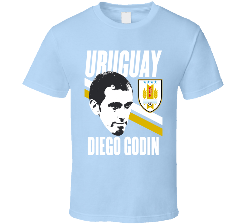 Diego Godin Is My Player Fan Team Uruguay Copa America Cup Soccer Futball T Shirt
