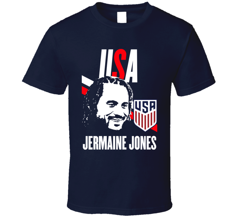 Jermaine Jones Is My Player Fan Team USA Copa America Cup Soccer Futball T Shirt